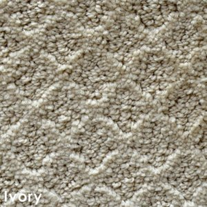 Marquis Diamond Pattern Indoor Area Rug Collection Ivory
