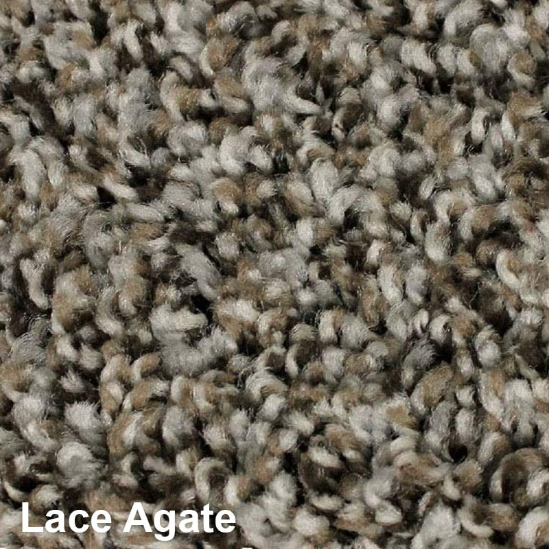 West Brow Indoor Frieze Area Rug Collection Lace Agate