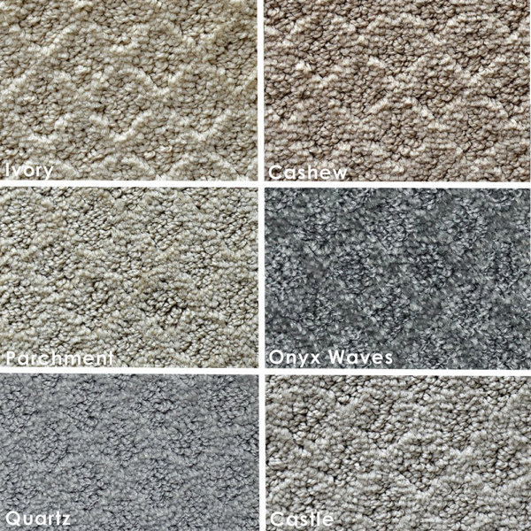 Marquis Diamond Pattern Indoor Area Rug Collection