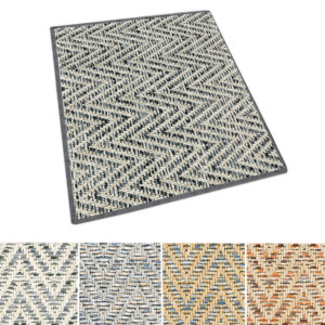 Tortola Chevron Pattern Indoor Outdoor Area Rug Collection