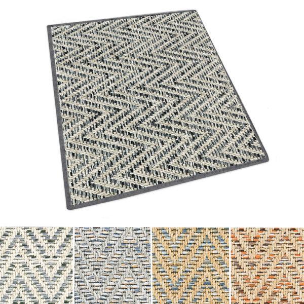 Tortola Chevron Pattern Indoor Outdoor Area Rug Collection