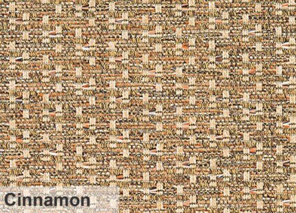 Virgin Gorda Pattern Indoor Outdoor Area Rug Collection Cinnamon