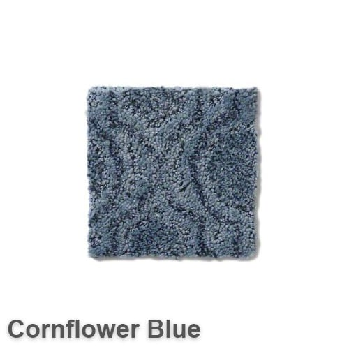 Tuftex Europa Moroccan Lantern Pattern Area Rug Collection Cornflower Blue