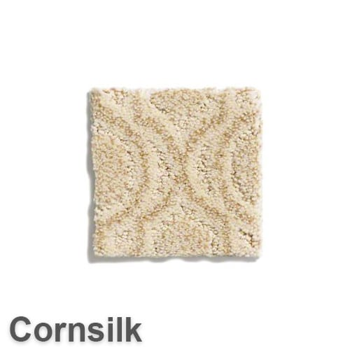 Tuftex Europa Moroccan Lantern Pattern Area Rug Collection Cornsilk