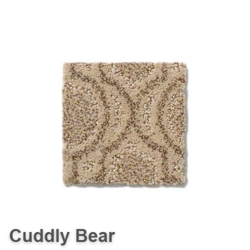 Tuftex Europa Moroccan Lantern Pattern Area Rug Collection Cuddly Bear