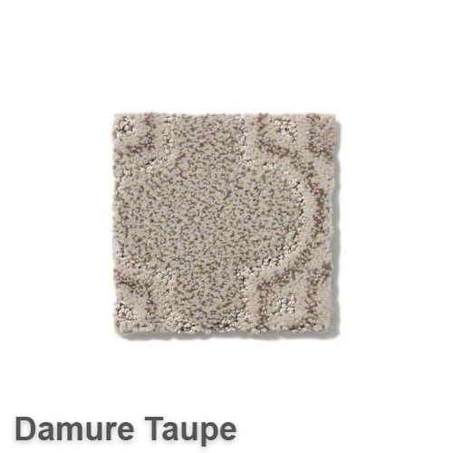 Tuftex Europa Moroccan Lantern Pattern Area Rug Collection Damure Taupe