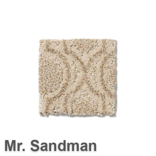 Tuftex Europa Moroccan Lantern Pattern Area Rug Collection Oyster Shell Mr. Sandman