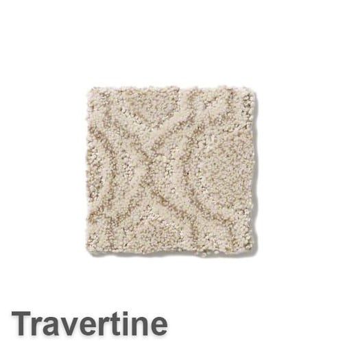 Tuftex Europa Moroccan Lantern Pattern Area Rug Collection Travertine
