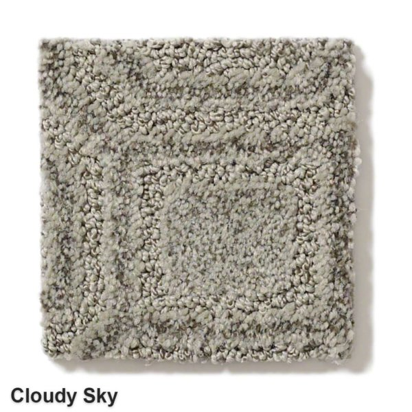 Genoa Pattern Area Rug Collection Cloudy Sky
