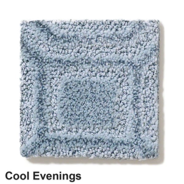 Genoa Pattern Area Rug Collection Cool Evenings