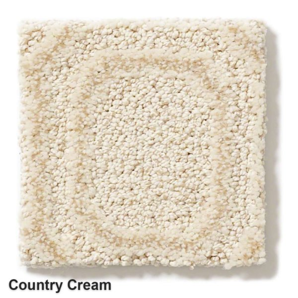 Genoa Pattern Area Rug Collection Country Cream
