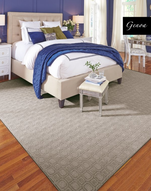 Genoa Pattern Area Rug Collection Room