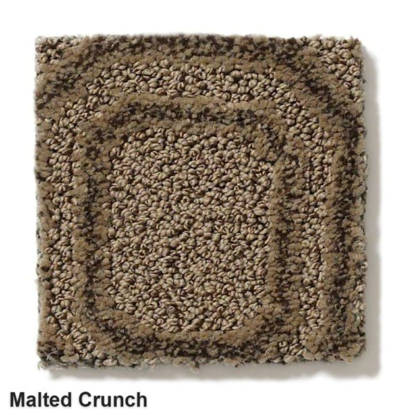 Genoa Pattern Area Rug Collection Malted Crunch