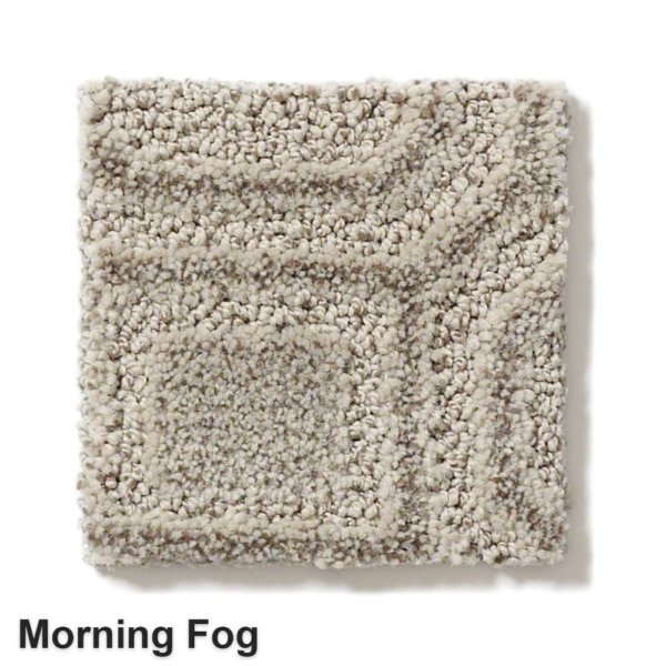 Genoa Pattern Area Rug Collection Morning Fog