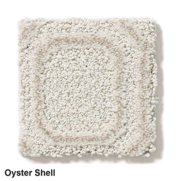 Genoa Pattern Area Rug Collection Oyster Shell