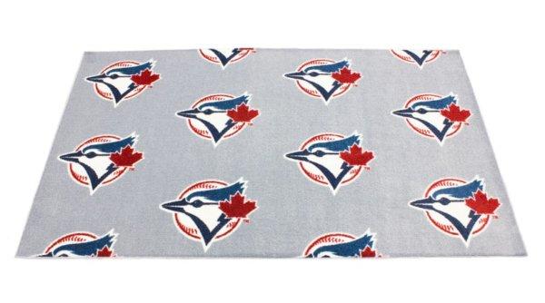 Toronto Blue Jays MLB Area Rug Top
