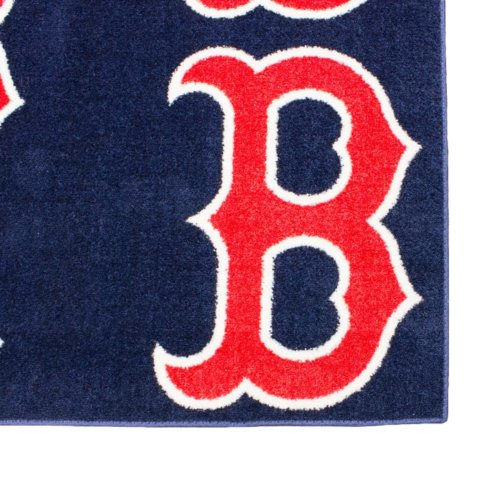 Boston Red Sox MLB Area Rug Carpet Corner