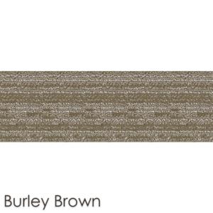 Peel and Stick Carpet Tile Planks Burley Brown