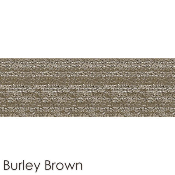 Peel and Stick Carpet Tile Planks Burley Brown