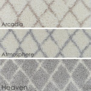 Moroccan Ultra Soft Area Rug Shagtacular Collection