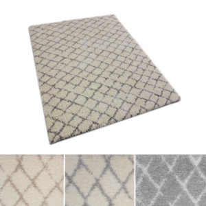 Moroccan Ultra Soft Area Rug Shagtacular Collection Collage
