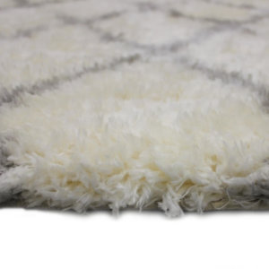 Moroccan Ultra Soft Area Rug Shagtacular Collection Side