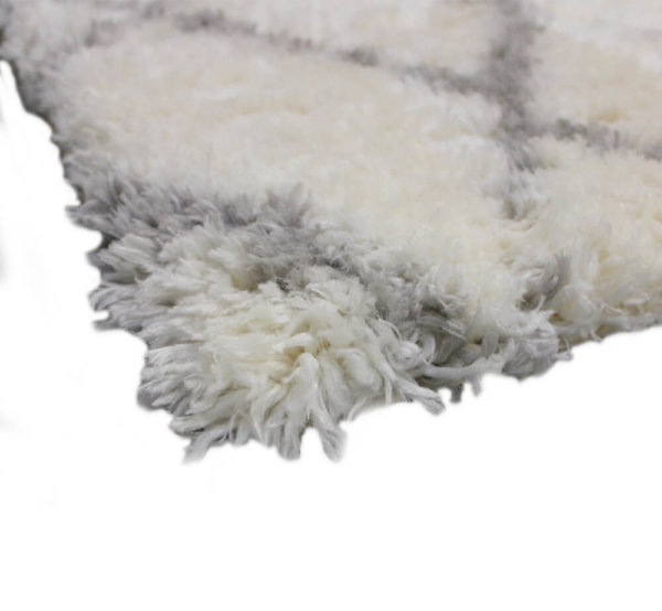 Moroccan Ultra Soft Area Rug Shagtacular Collection Corner