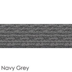 Peel and Stick Carpet Tile Planks Navy Grey