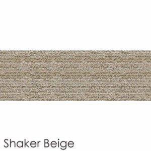 Peel and Stick Carpet Tile Planks Shaker Beige