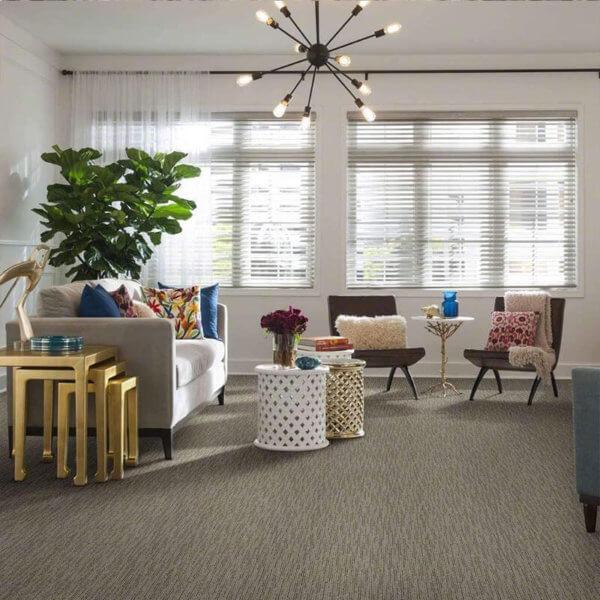Peel and Stick Carpet Tile Planks - Room