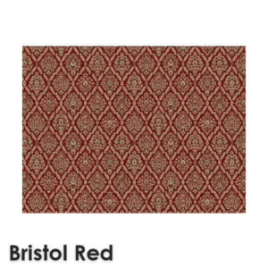 DaVinci Traditional Woven Radiance Collection Bristol Red