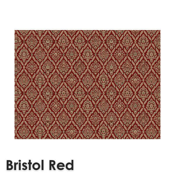 DaVinci Traditional Woven RadianceCollection Bristol Red
