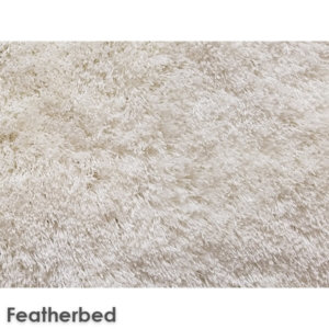 Sheer Lux Ultra Soft Area Rug Shagtacular Collection Featherbed