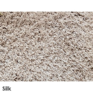 Sheer Lux Ultra Soft Area Rug Shagtacular Collection Silk