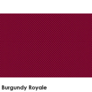 Pin Dot Woven Classics Collection Burgundy Royale