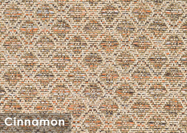 Marina Cay Custom Cut Indoor Outdoor Rug Collection Cinnamon