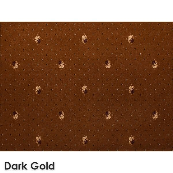 Lucerne Dot Woven Classics Collection Dark Gold