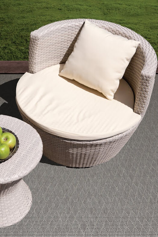 Luxurious Kasbah Diamond Pattern Indoor/Outdoor Wear Ever Collection Drizzle Room