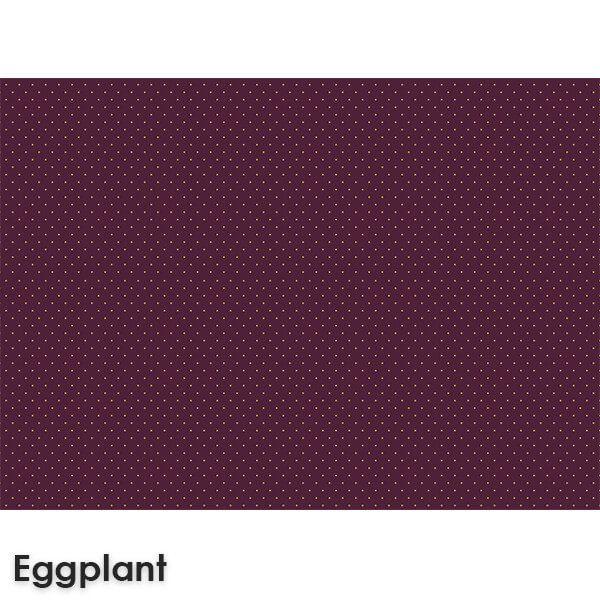 Pin Dot Woven ClassicsCollection Eggplant