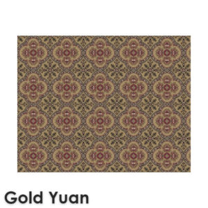 Dynasty Traditional Woven Radiance Collection Gold Yuan