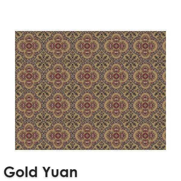 Dynasty Traditional Woven RadianceCollection Gold Yuan