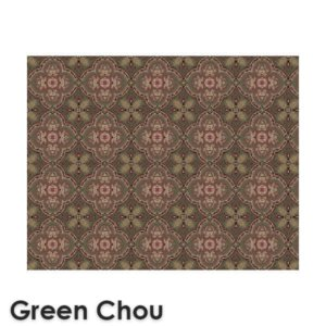 Dynasty Traditional Woven Radiance Collection Green Chou