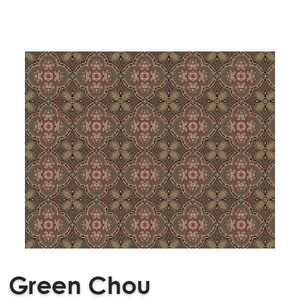 Dynasty Traditional Woven RadianceCollection Green Chou