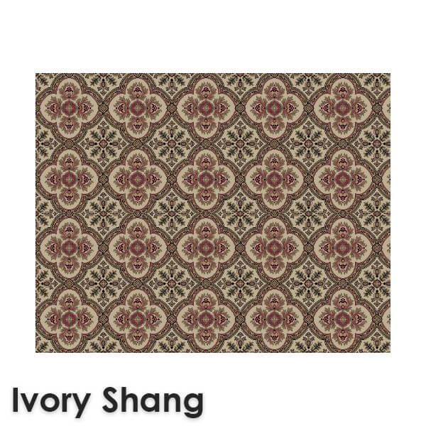 Dynasty Traditional Woven Radiance Collection Ivory Shang