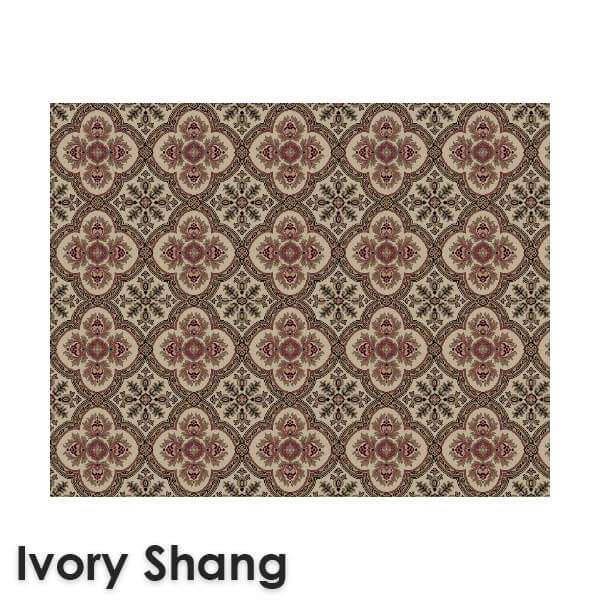 Dynasty Traditional Woven RadianceCollection Ivory Shang