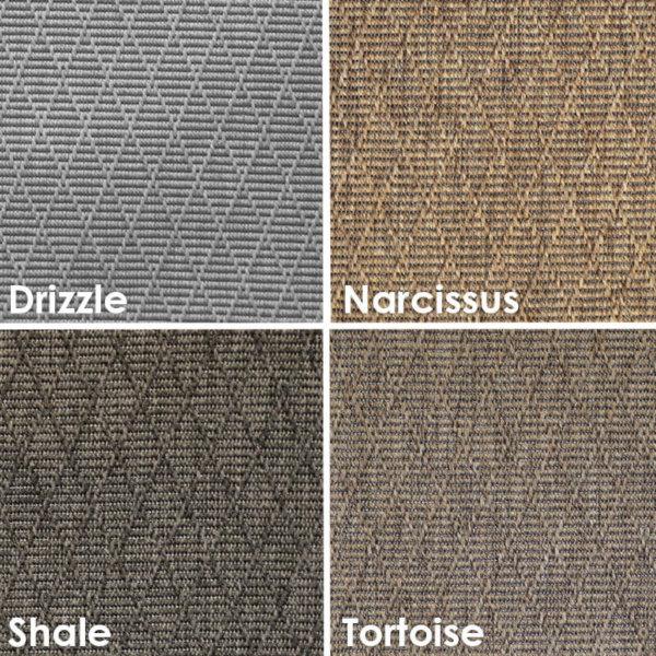 Luxurious Kasbah Diamond Pattern Indoor/Outdoor Wear Ever Collection