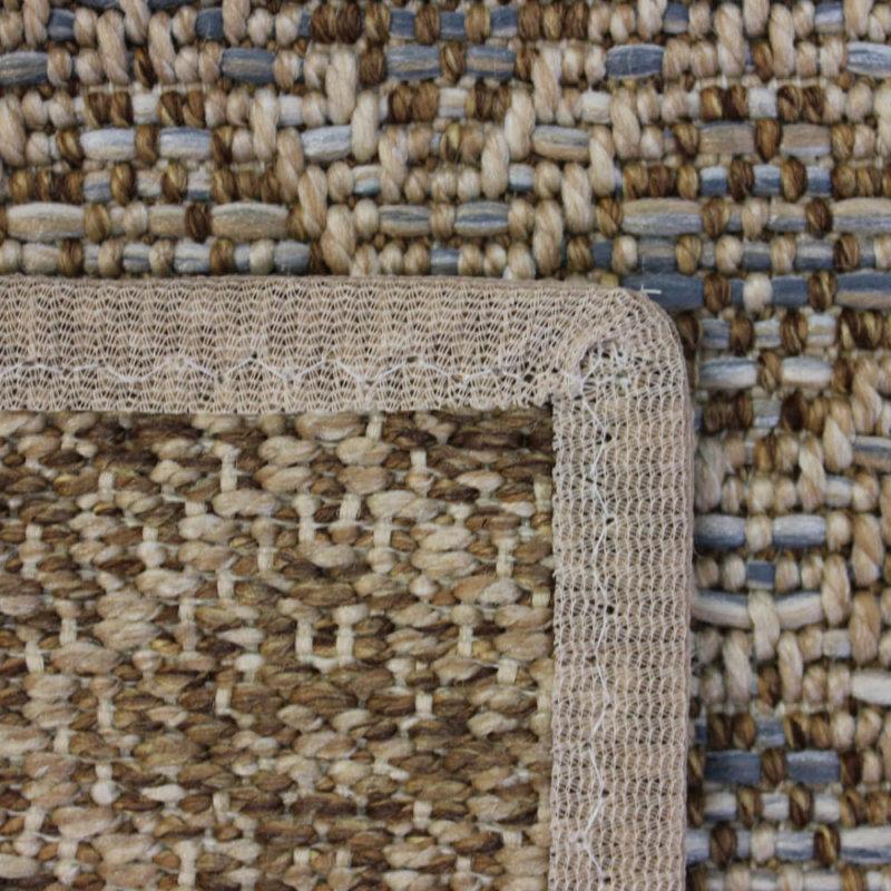 Marina Cay Custom Cut Indoor Outdoor Rug Collection Bronze backing