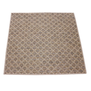Marina Cay Custom Cut Indoor Outdoor Rug Collection Bronze rug 1
