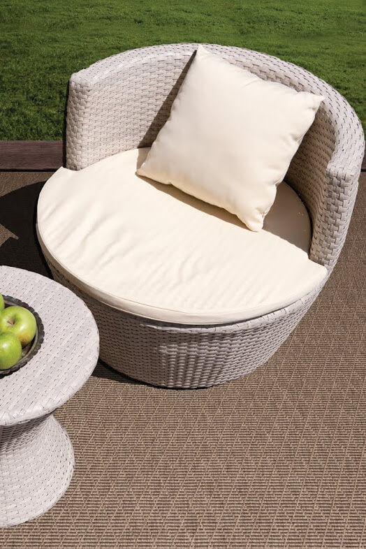 Luxurious Kasbah Diamond Pattern Indoor/Outdoor Wear Ever Collection Narcissus Room