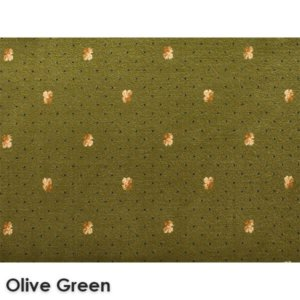 Lucerne Dot Woven ClassicsCollection Olive Green